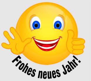 Smiley – Frohes neues Jahr !
