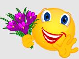 Smiley – Krokusse lila