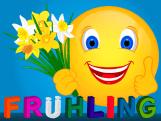 Smiley – Frühling
