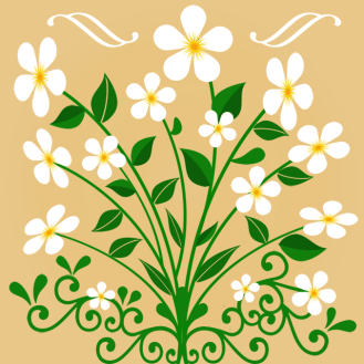 Blumen – Ornament 9
