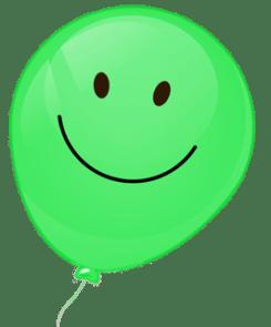 Bunte Luftballons 12