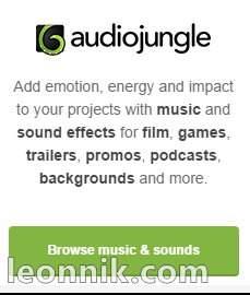 Audiojungle - сервис с музыкой и звуковыми эффектами для фильмов, игр, трейлеров, промо, подкастов, фона