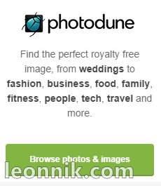 Photodune - площадка с огромным количеством фотографий.