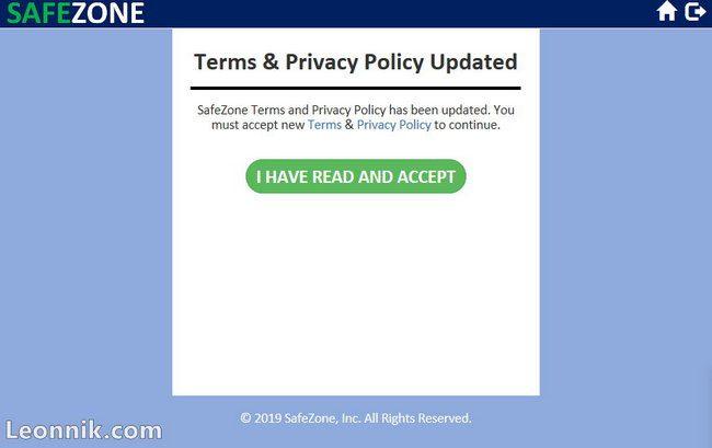 Условия использования и политика конфиденциальности компании
