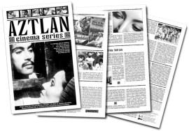 Program for Albuquerque Museum's Aztlan Cinema Series