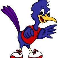 Rafi the Roadrunner, created for the Albuquerque Metro Crime Stoppers children's coloring book