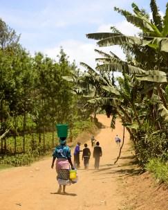 Walking for Water, Meru, Tanzania