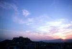Athens at dusk