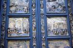 Baptistry door