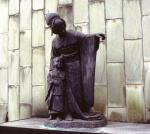 Madame Butterfly statue