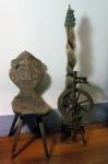 2004 Engandine Mus. Spinning wheel
