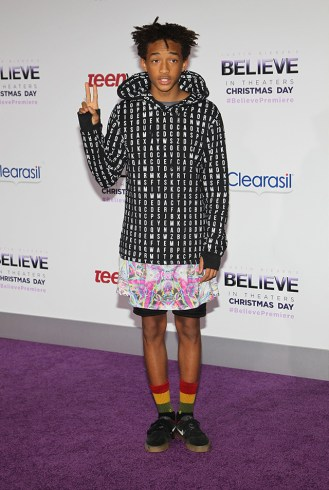 World Premiere of 'Justin Bieber's Believe' held at The Premiere House at Regal Cinemas L.A. Live - Arrivals Featuring: Jaden Smith Where: Los Angeles, California, United States When: 18 Dec 2013 Credit: FayesVision/WENN.com