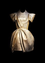 Dice Kayek dresses, inspired by the Byzantine empire and Ottoman rulers.