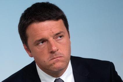 Italian Prime Minister Matteo Renzi smiles during a press conference at Chigi Palace the day after the results of the European Parliament elections, in Rome, Italy, 26 May 2014. Renzi led his centre-left Democratic Party to a landslide win, crushing fears that it could lose to the anti-establishment Five Star Movement (M5S), which came in a distant second. 26 May 2014. ANSA/CLAUDIO PERI