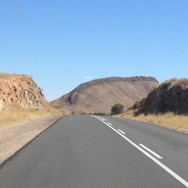 Dragonback mountain somewhere along the B1 before Keetmanshoop. Next time I need to run that spine