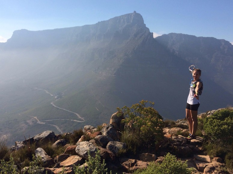 The view from the summit of Lion's Head is spectacular