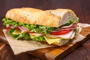 Leo's Baguette sandwich - Leo's- Baguette-sandwich