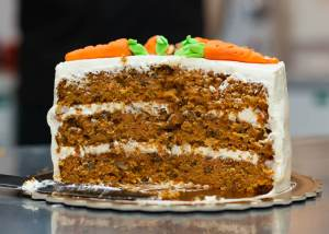 Leo's Carrot Cake With Cream Cheese - Leo's-Carrot-Cake-With-Cream-Cheese