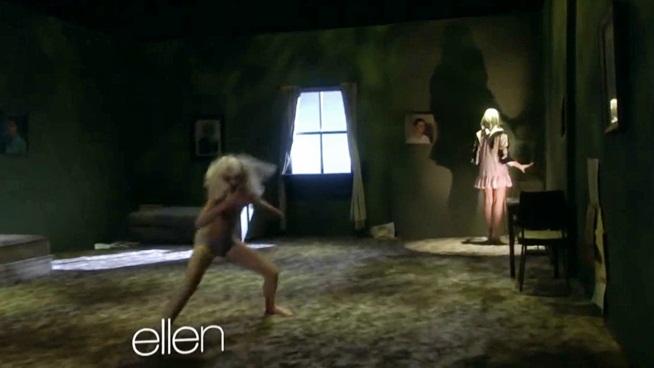 Sia Chandelier Mad Ellen Show