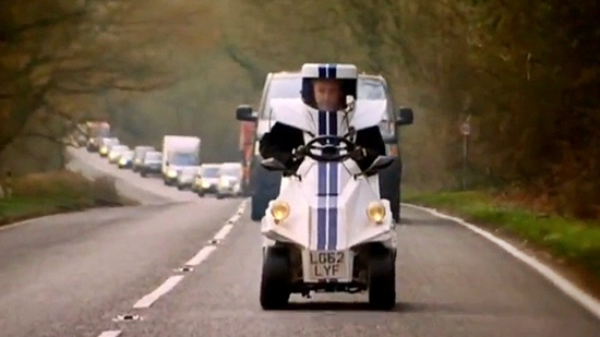 Top Gear's Jeremy Clarkson Builds World's Smallest Car