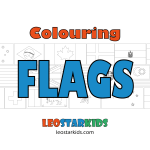 Colouring In Pictures – National Flags