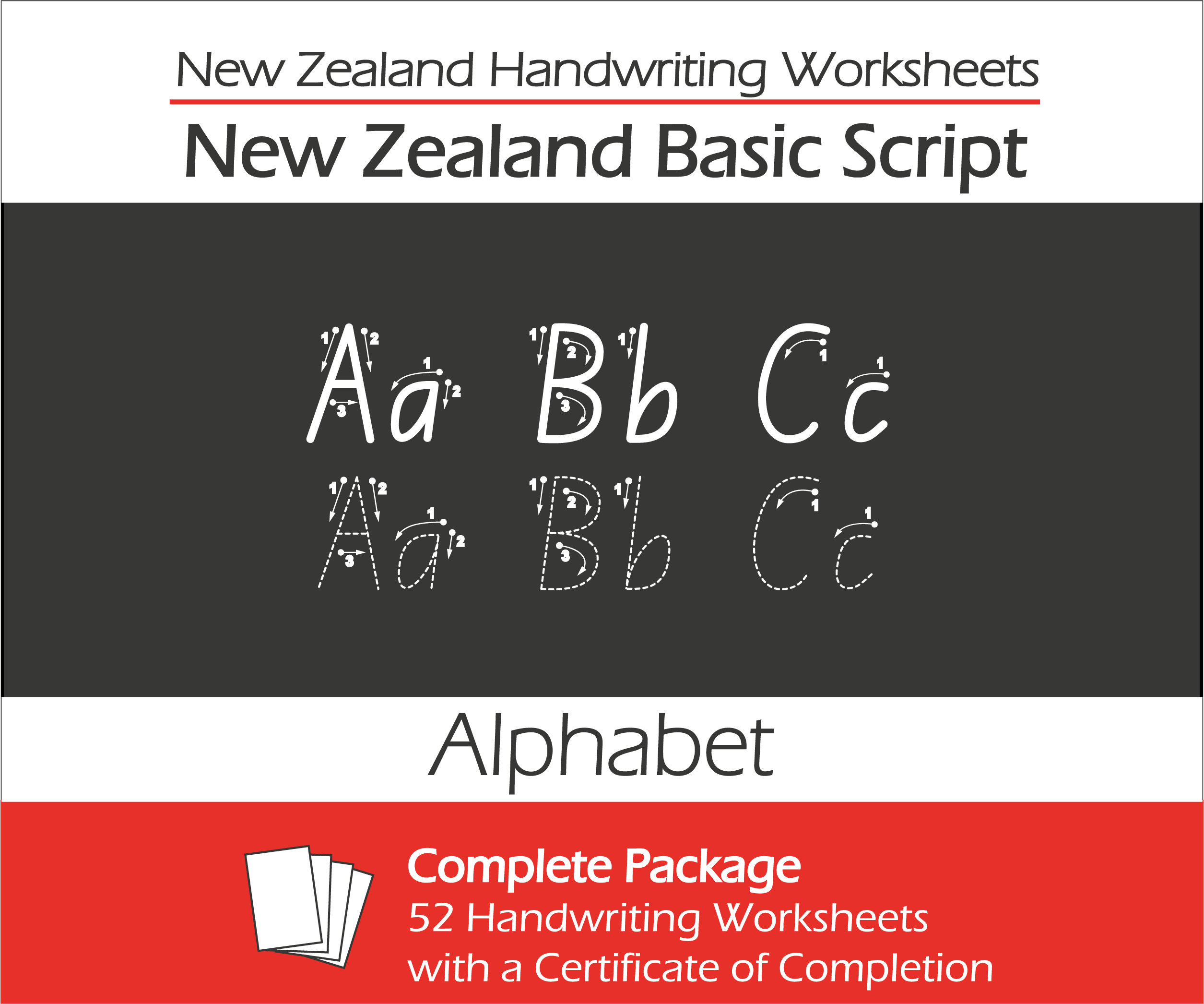 New Zealand Handwriting Practice Worksheets