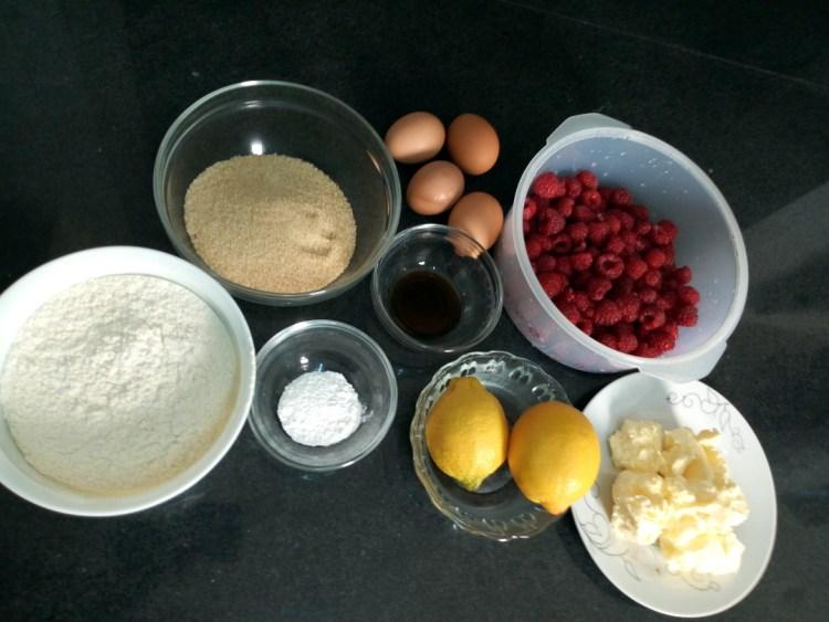 raspberry lemon cake leotunapika