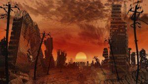 Armageddon de extremo del-mundo