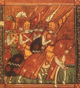 Conde Godofredo conduz cruzados