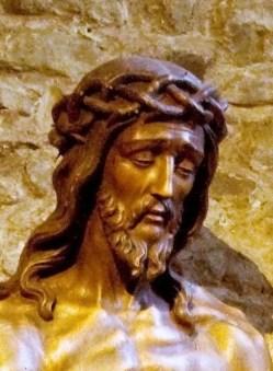 Jesus Coroado de espinhos, basílica medieval, Bruges, Bélgica