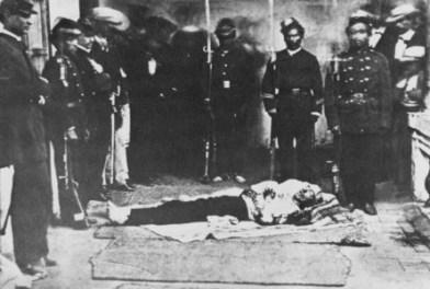 Garcia Moreno assassinado por sua defesa das Leis de Deus.