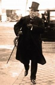 Georges Clemenceau, que foi ministro e chefe de governo da França