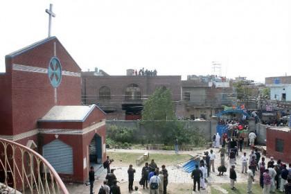 Igreja de São João, alvo do ataque terrorista.