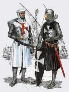 Templario (esquerda) e Hospitalario (direita)