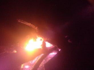 Eden, le dragon... son premier soir de feu