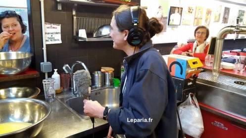 Charlotte Café de la Commune Leparia