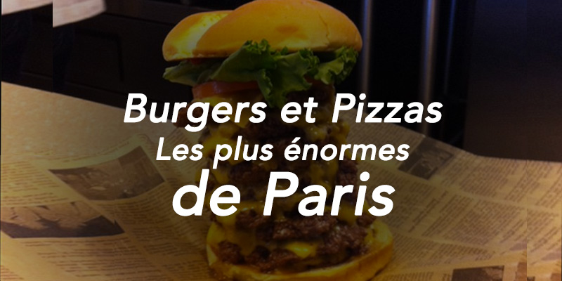 plus gros pizza burgers