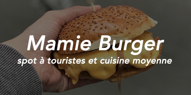mamie burger