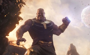 Thanos Pull Moon to Avengers