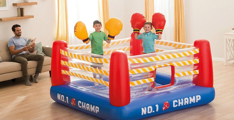 6 obstacles gonflés pour enfants audacieux - Le Paternel