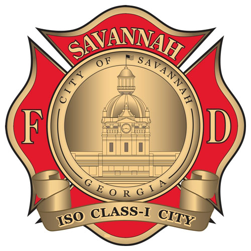 Savannah Fire Department Logo