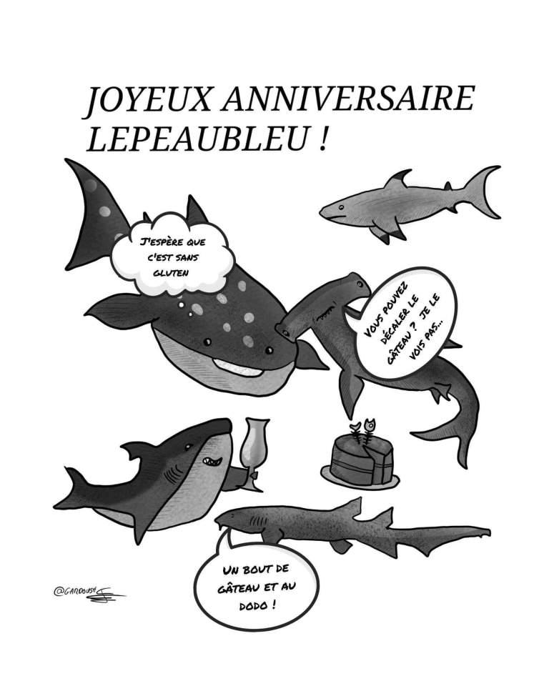 Le dessin de gardoush pour les an de LePeauBleu