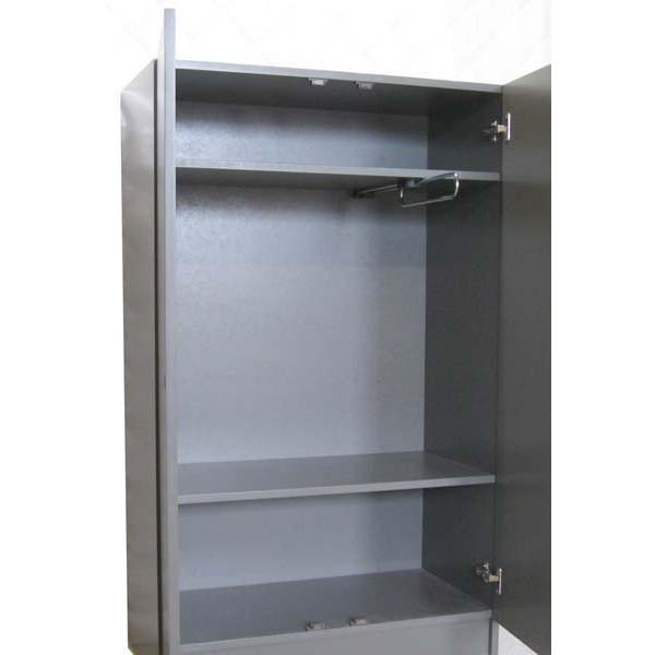 armoire pour lit sureleve de 90 cm de large dominique