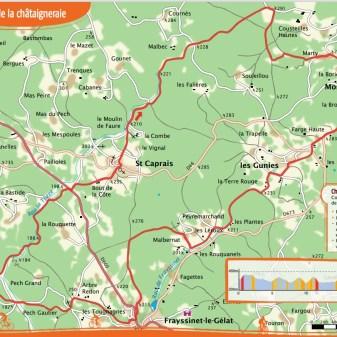 Montcléra 23 km 2,5 uur Moeilijk