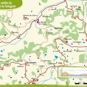 Saint Cyprien 17 Km 1,5 heure en moyenne