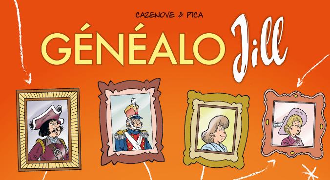 La BD « Généalo Jill » : la généalogie pour les «nuls»