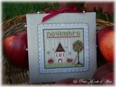Pommes au mois de novembre