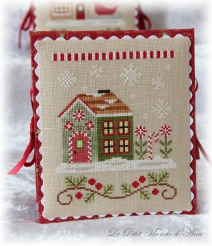 Candy Cane Cottage flatfold