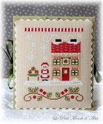 Mrs Claus Cookie Shop flatfold