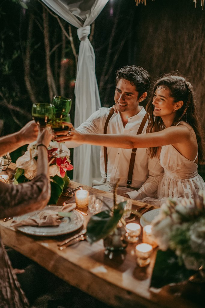 matrimonio boho destination wedding messico